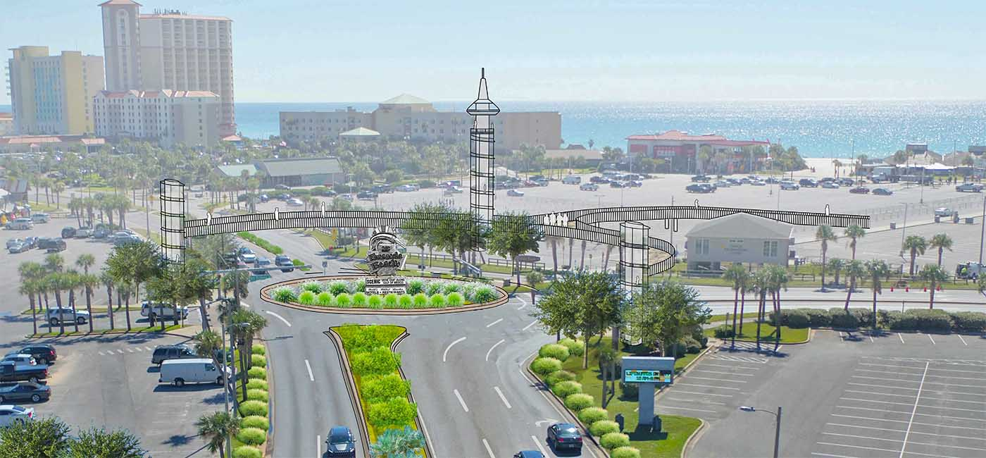 What do you think about the $10M traffic project for Pensacola Beach?