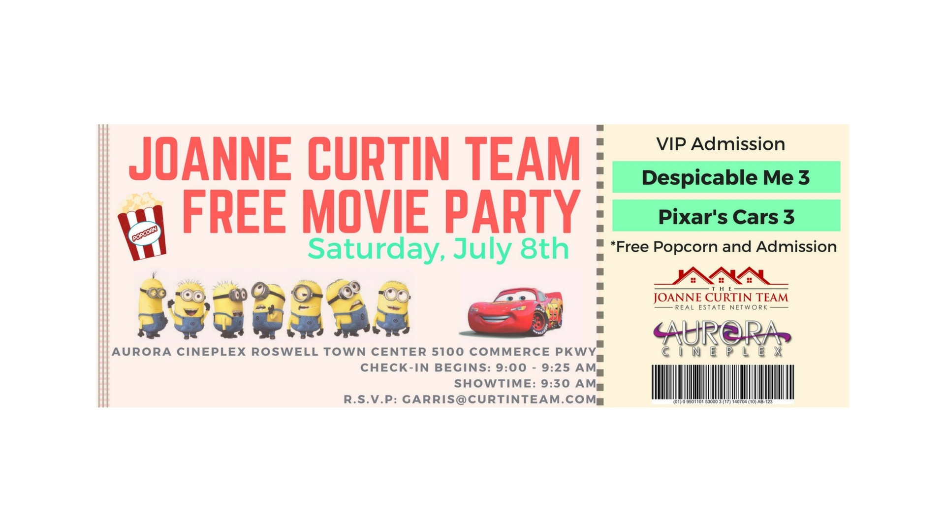 FREE Movie Party