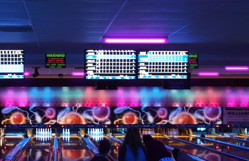 Cosmic Bowling at Mid County Lanes