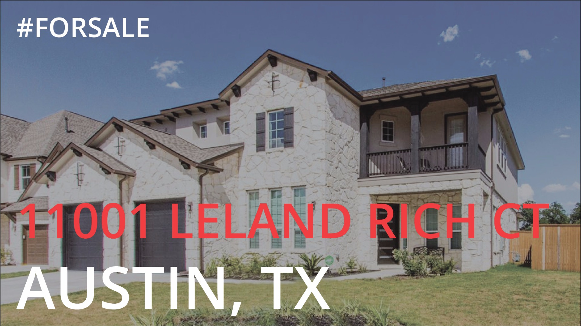 Featured: 11001 Leland Rich Court, ATX