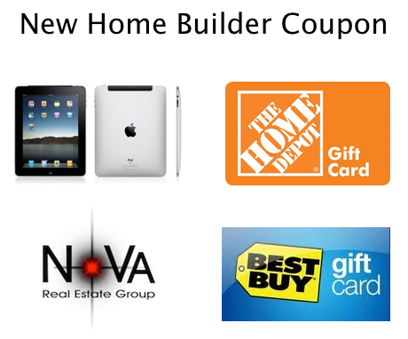 Image of New Home Builder Coupon Choices
