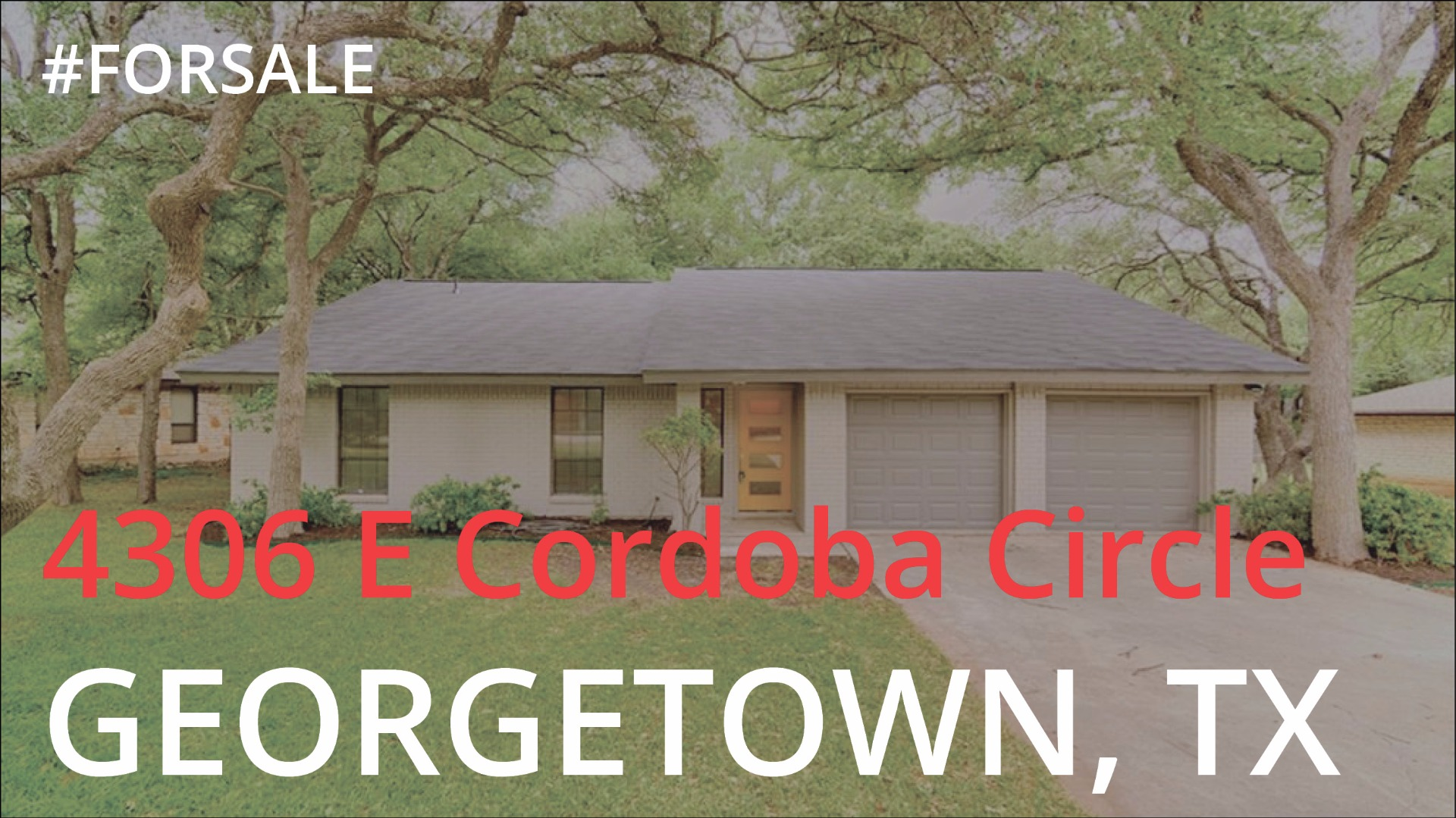 Featured: 4306 E Cordoba Circle, Georgetown TX
