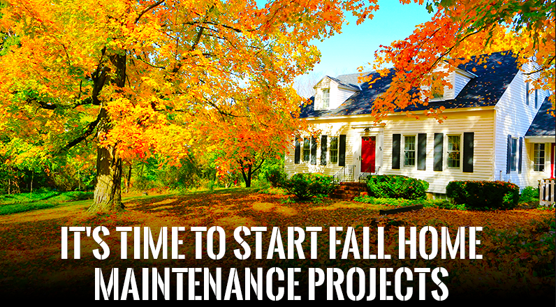 Tips for Fall Home Maintenance