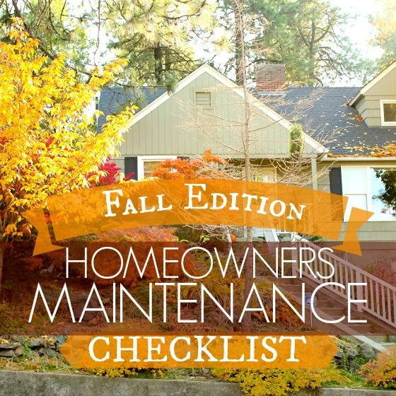 Fall Home Maintenance Checklist: Top 5 Must-Do's
