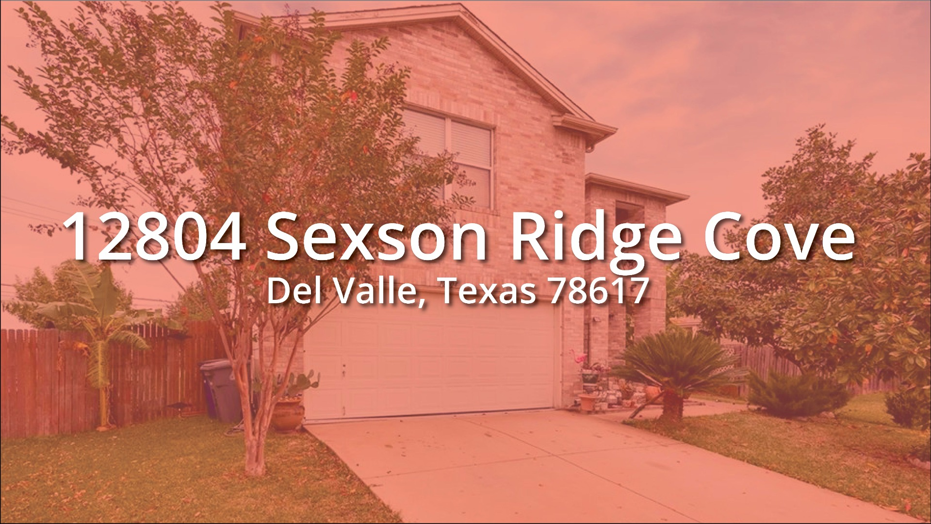 Featured: 12804 Sexson Ridge Cove, Del Valle