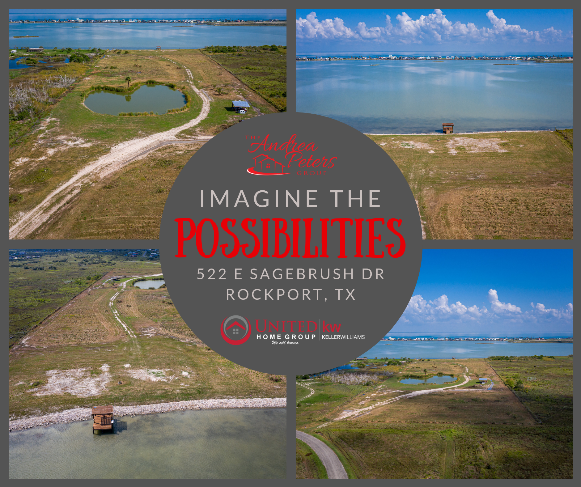 JUST LISTED | 522 E Sagebrush Dr, Rockport, TX 78382