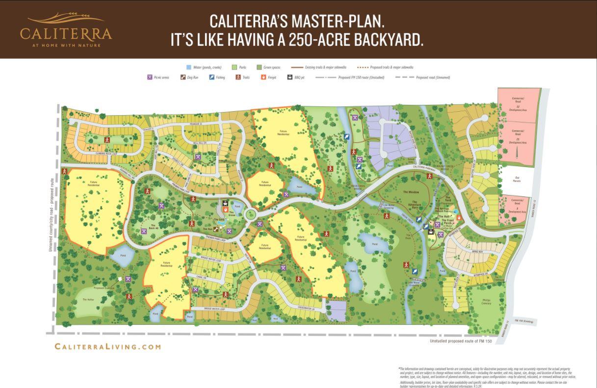 Caliterra's Master Planned Community