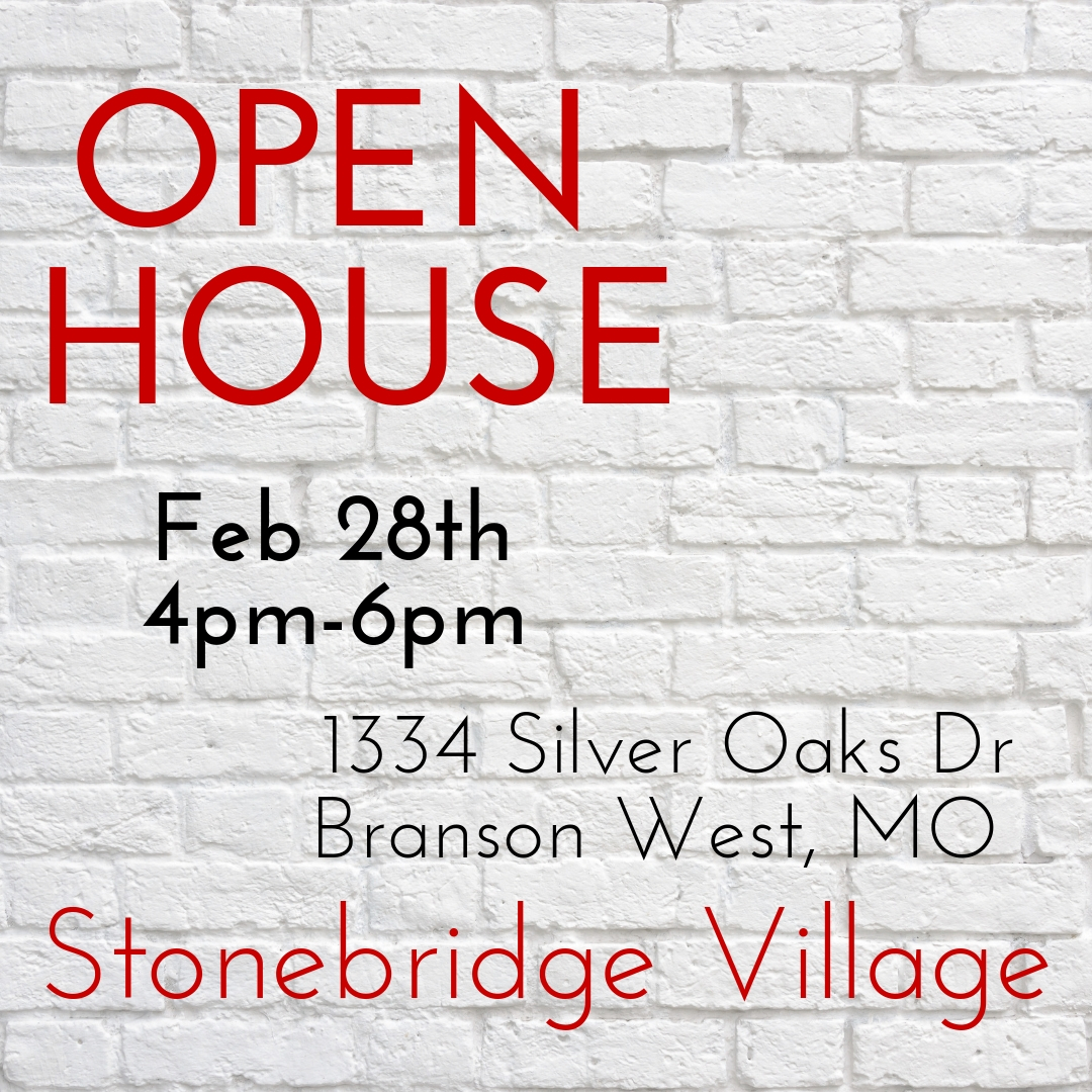 OPEN HOUSE | Today 4pm-6pm | Stonebridge Golf Village