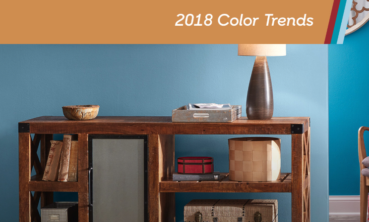 Check Out the 2018 Color Trends