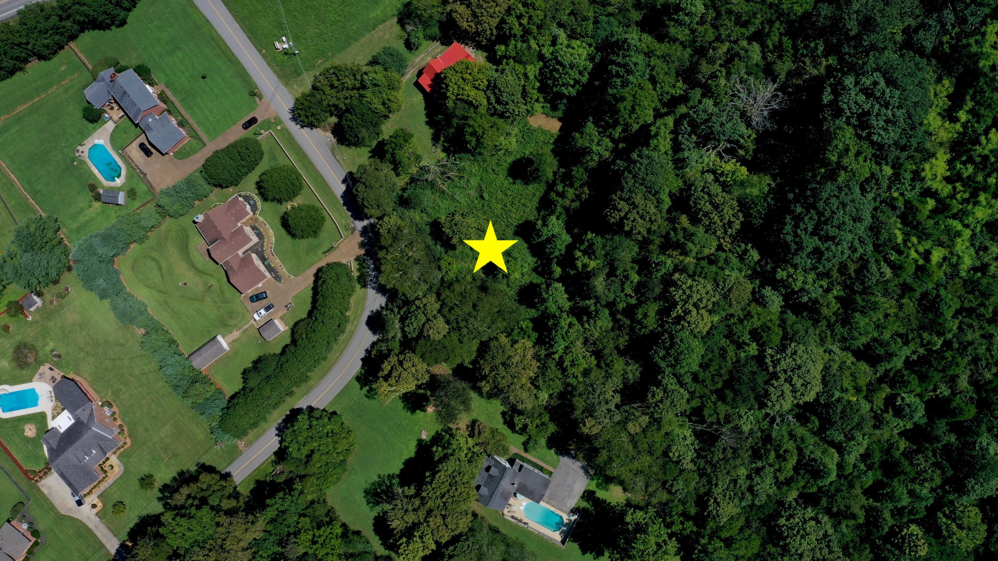 5.02 Wooded Acres Overlooking The Valley!  0 Shell Rd., Hendersonville, TN.  37075