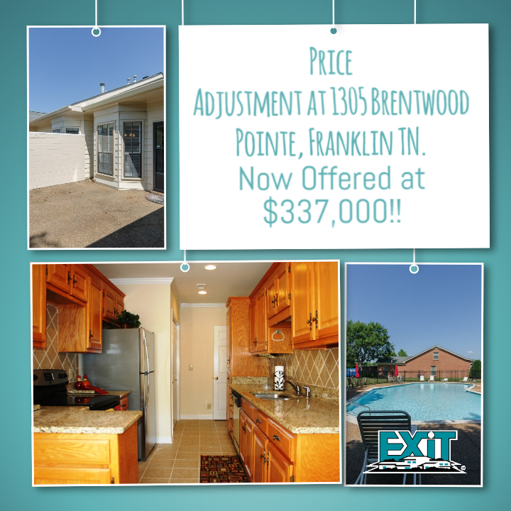 PRICE ADJUSTMENT at 1305 Brentwood Pointe III Condo...Now Offered at $337,000!!