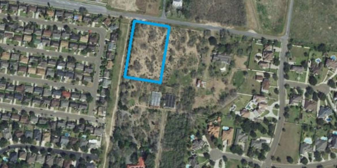 Lot for Sale: 1513 W. Esperanza Avenue McAllen, TX 78504