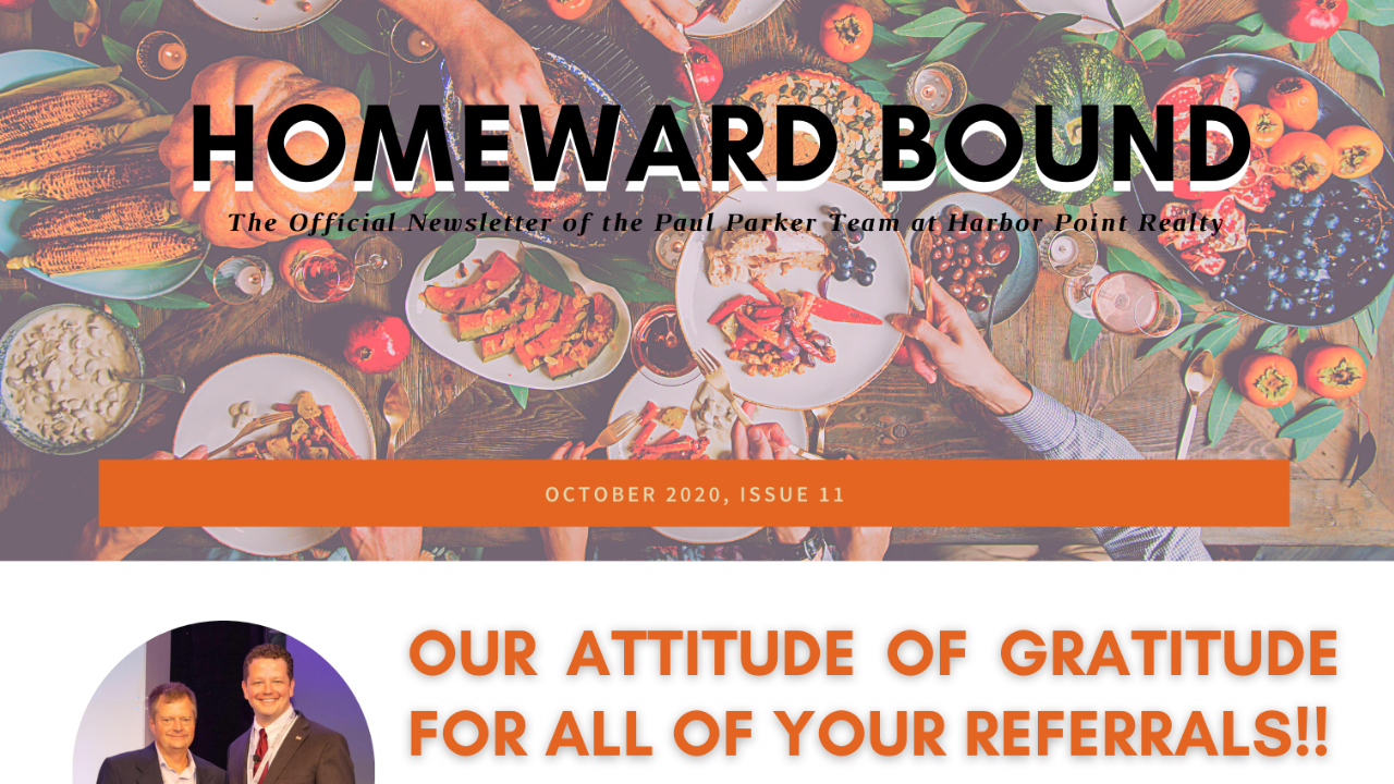 November Homeward Bound Newsletter