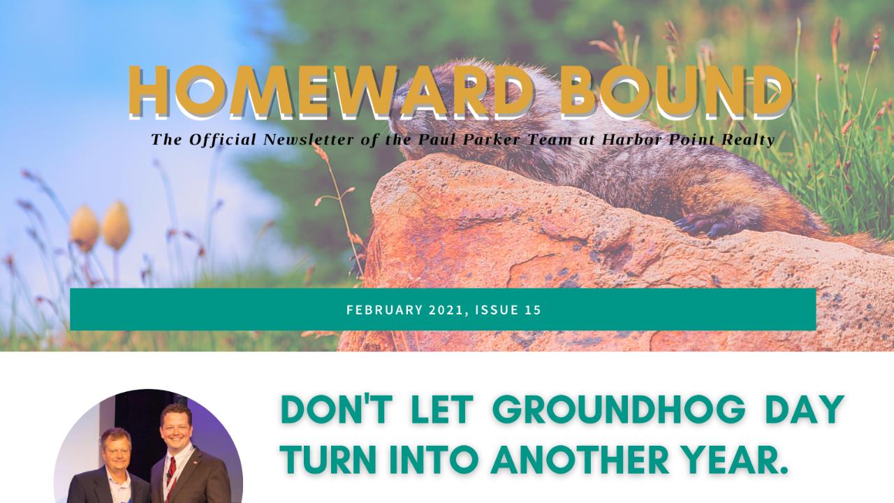 February Homeward Bound Newsletter