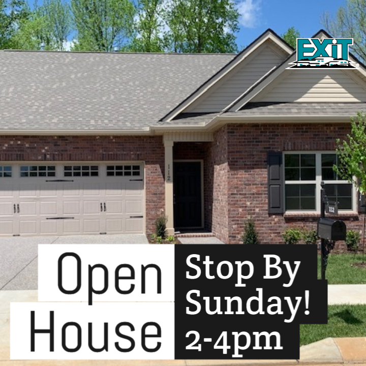 OPEN HOUSE, 112 Bexley Way White House TN, SUNDAY, May 26th 2-4PM
