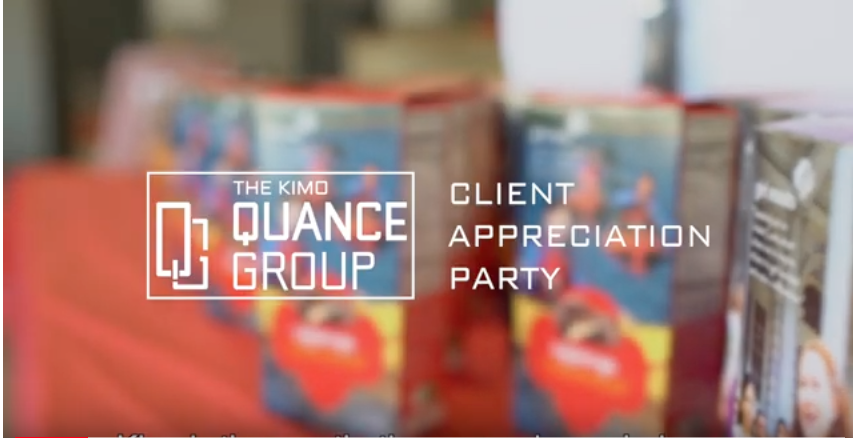 The Kimo Quance Group's Client Appreciation Party