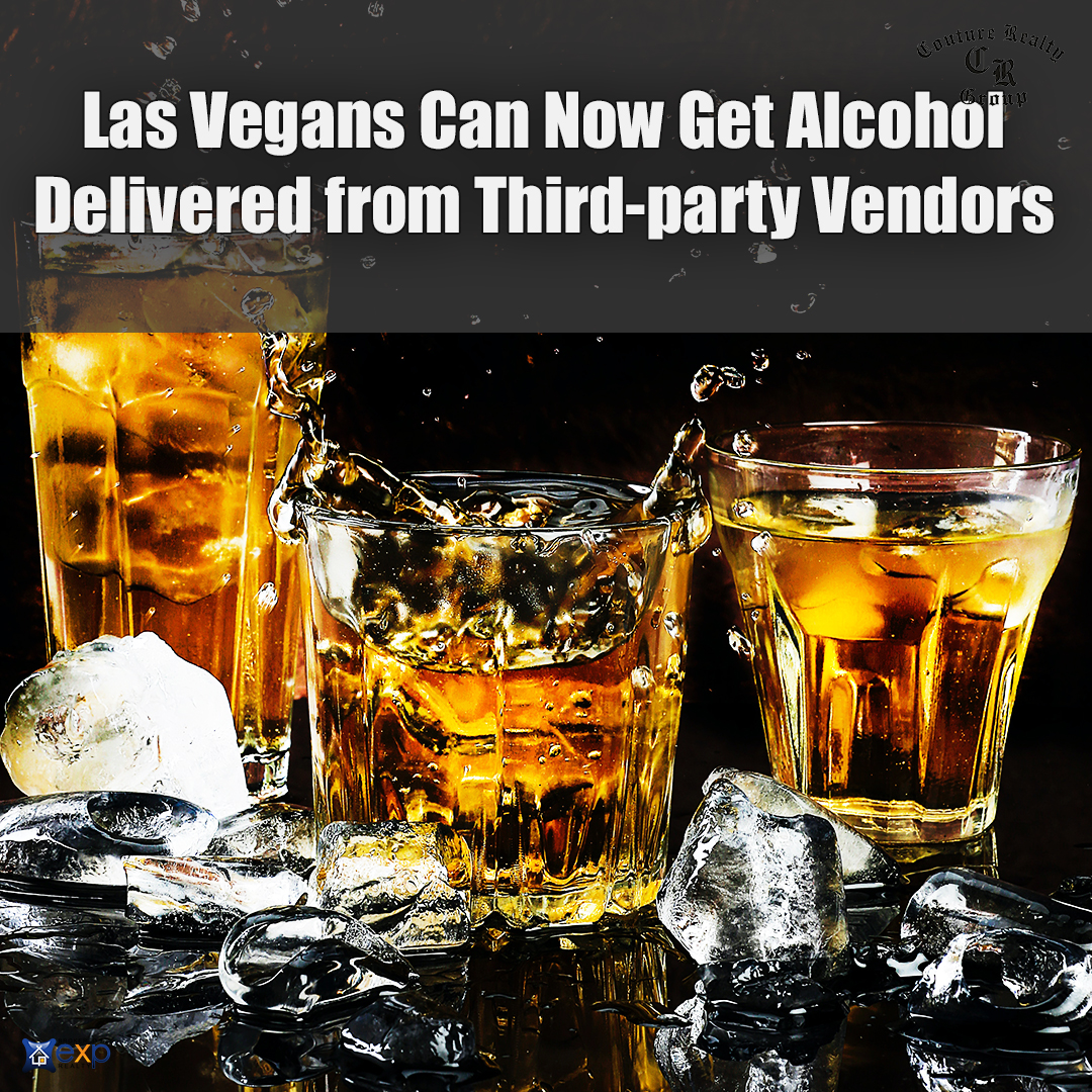 Las Vegans Can Now Get Alcohol Delivered from Third-party Vendors