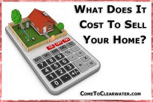 What does a seller have to pay when selling a house?