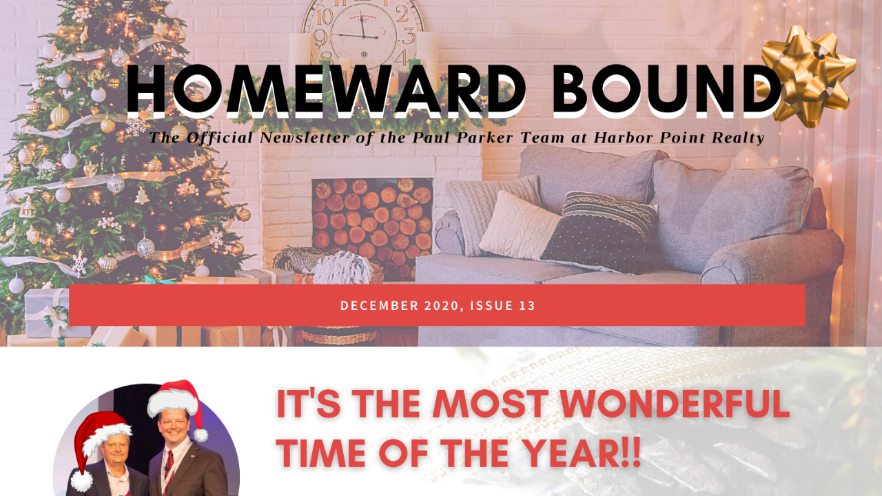 December Homeward Bound Newsletter