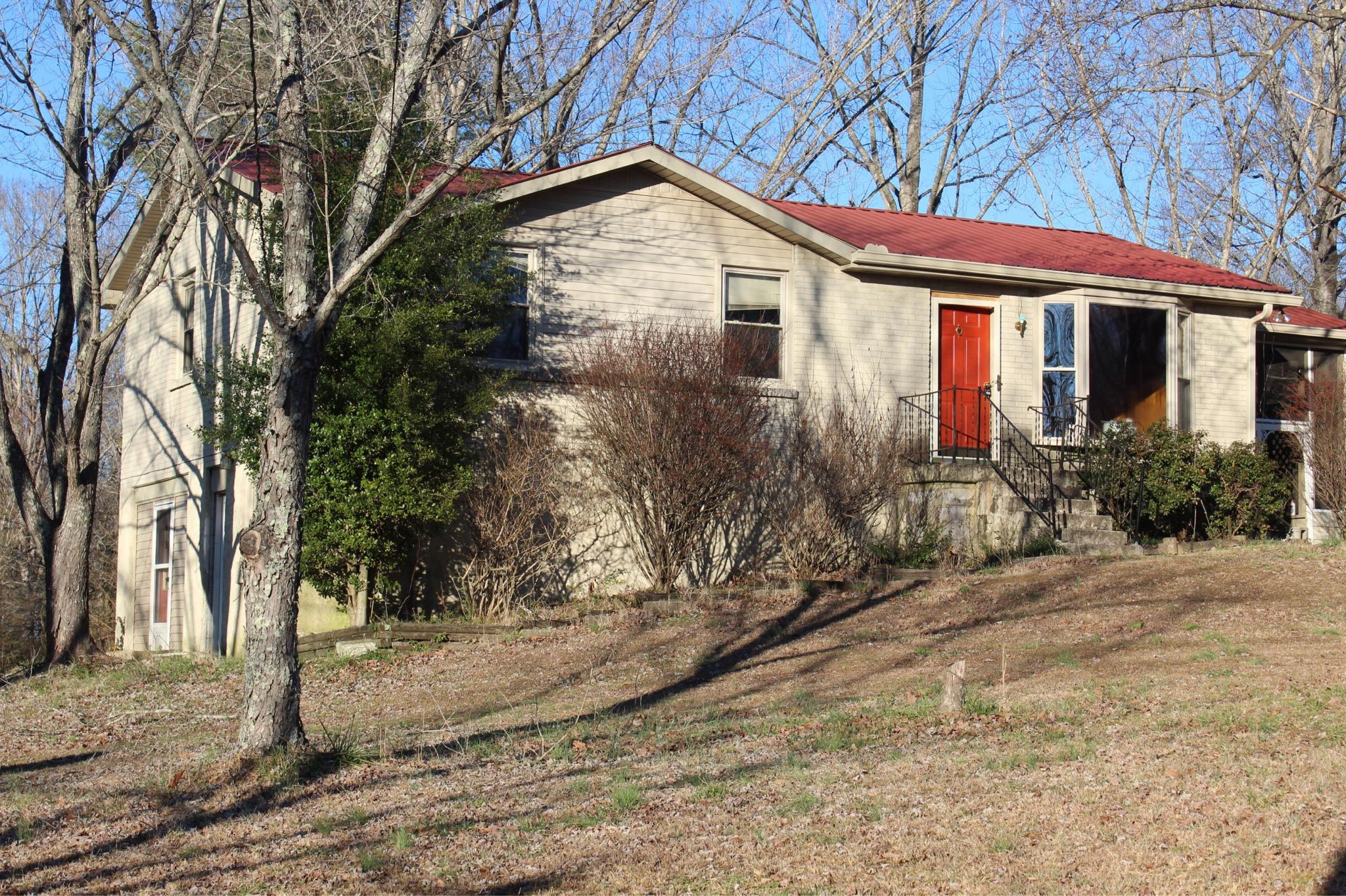 Unique Home With Privacy And 2.4 Acres Convenient To Everything!  3006 County Farm Rd. W, Springfield, TN.  37172
