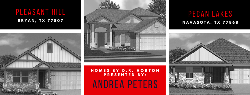 Introducing New D.R. Horton Homes in Bryan & Navasota