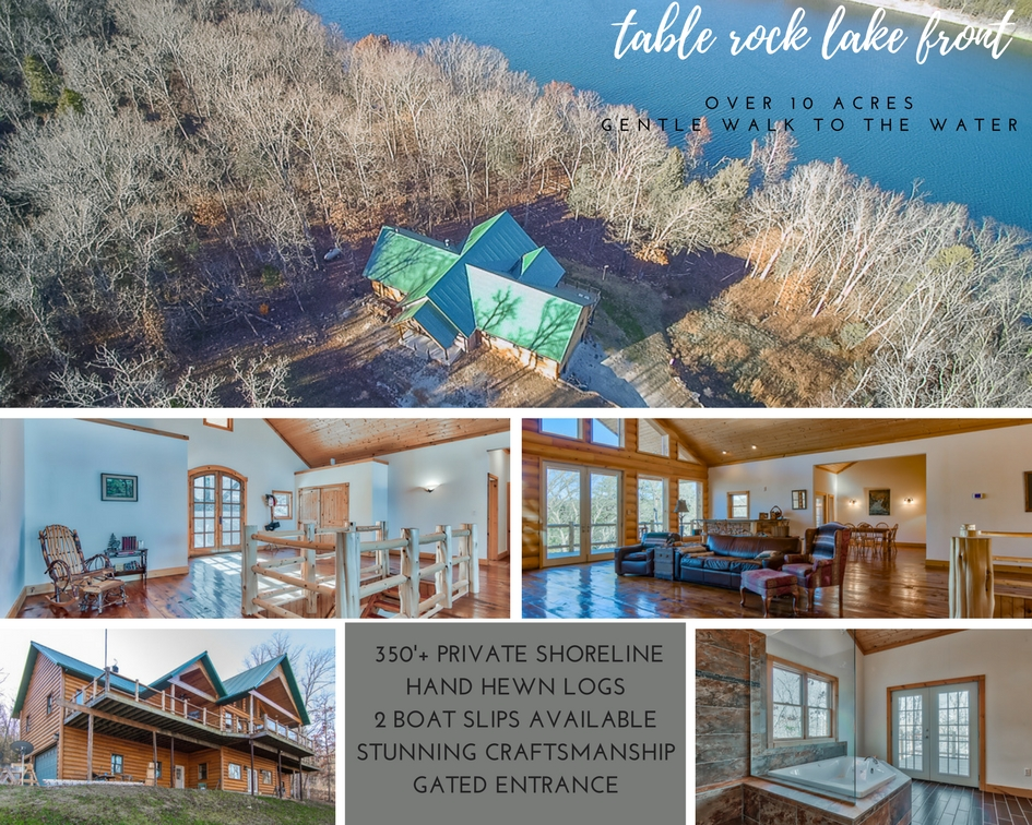 Table Rock Lake Front Home | 215 Prestin Ln | MLS# 60095736