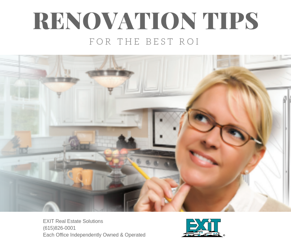 3 Renovation Tips for the Best ROI