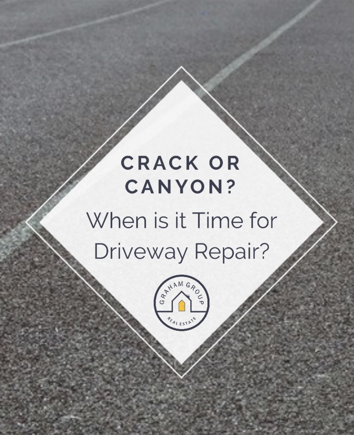 Crack or Canyon? When is it Time for Driveway Repair?