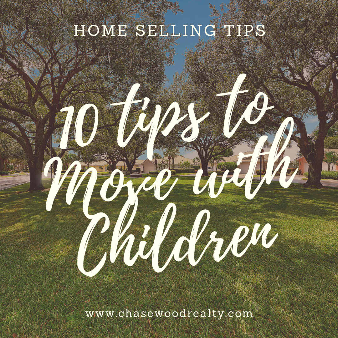 10 tips to Move with Children North Palm Beach