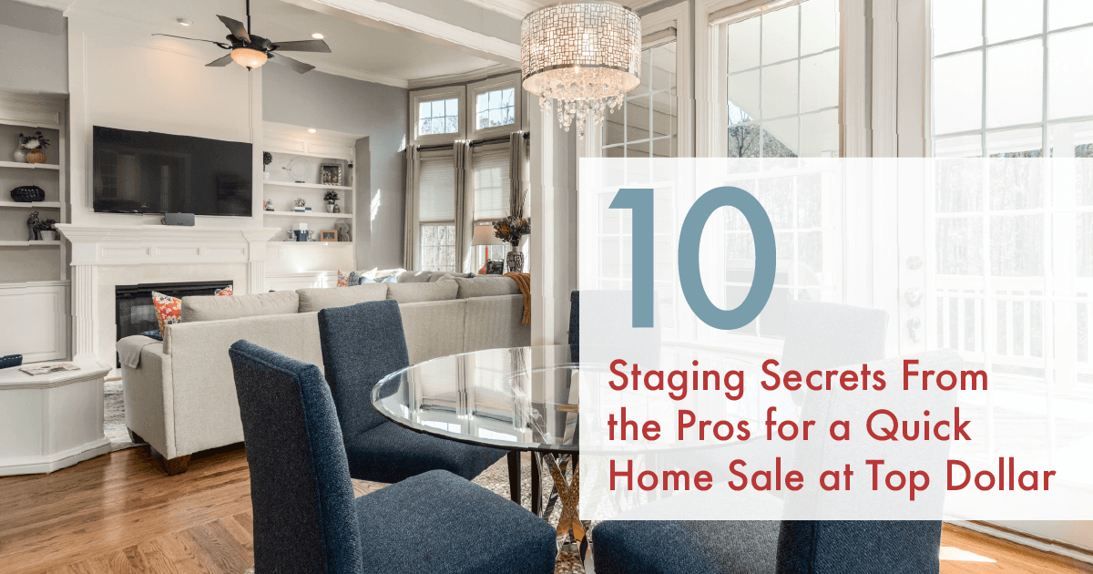 Tips to stage your home like a Pro!