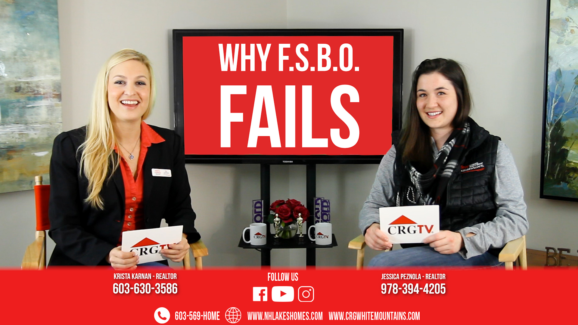 CRGTV: Top 5 Reasons NOT to FSBO featuring Krista & Jess