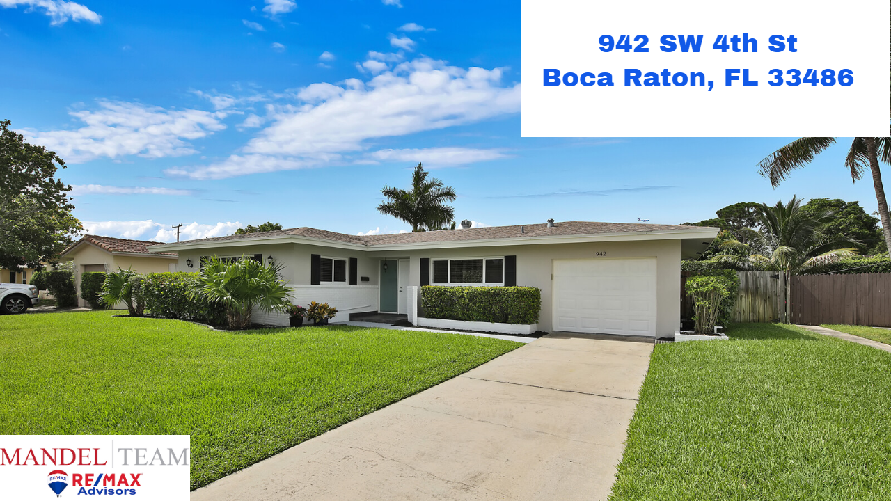 Video Tour of Boca Raton Home Under Contract @ 942 SW 4th St in the Boca Square Neighborhood