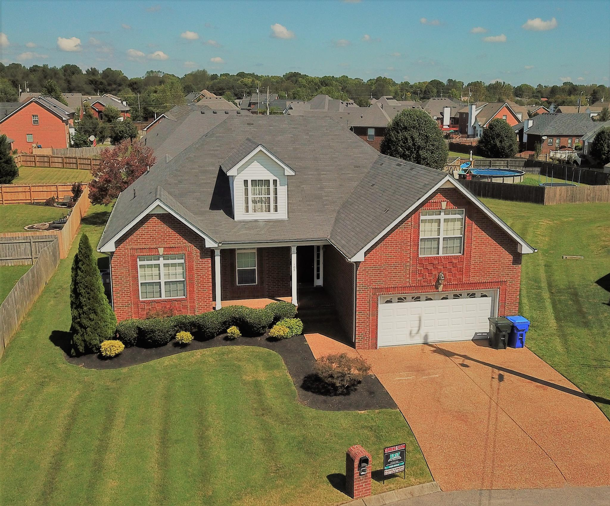 Move In Ready home for sale in Indian Ridge 105 Sequoyah Ct White House TN
