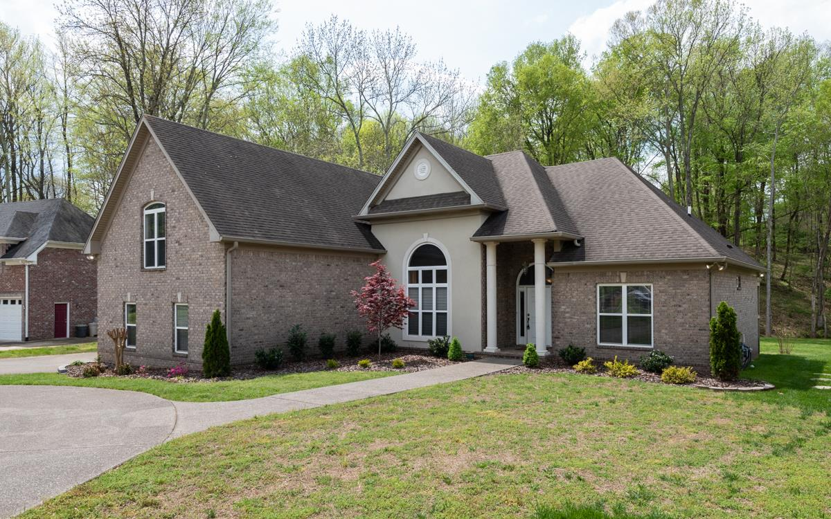4 BR/3.5 BA All Brick Home With Open Floor Plan And High Ceilings Located At 1214 Lake Rise Overlook, Gallatin, TN.  37066