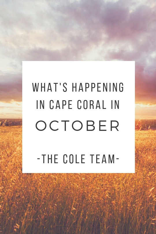 October Cape Coral Events