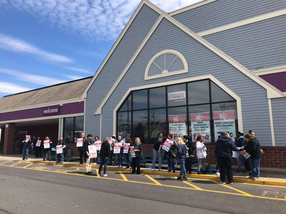Workers Strike at Stop & Shop Supermarkets