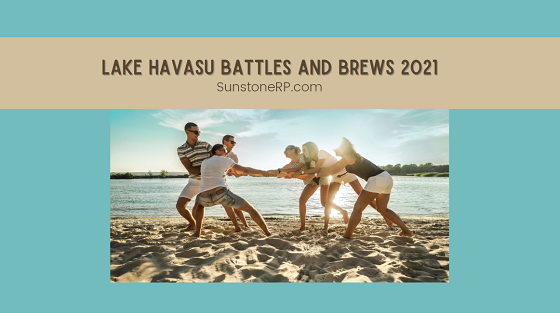 As part of the 50th birthday celebration for our beloved London Bridge landmark, come to the Lake Havasu Battles and Brews 2021 tug-of-war and pancake race competitions. Chomp on delicious fare from food trucks on-site while cheering on the competitors.