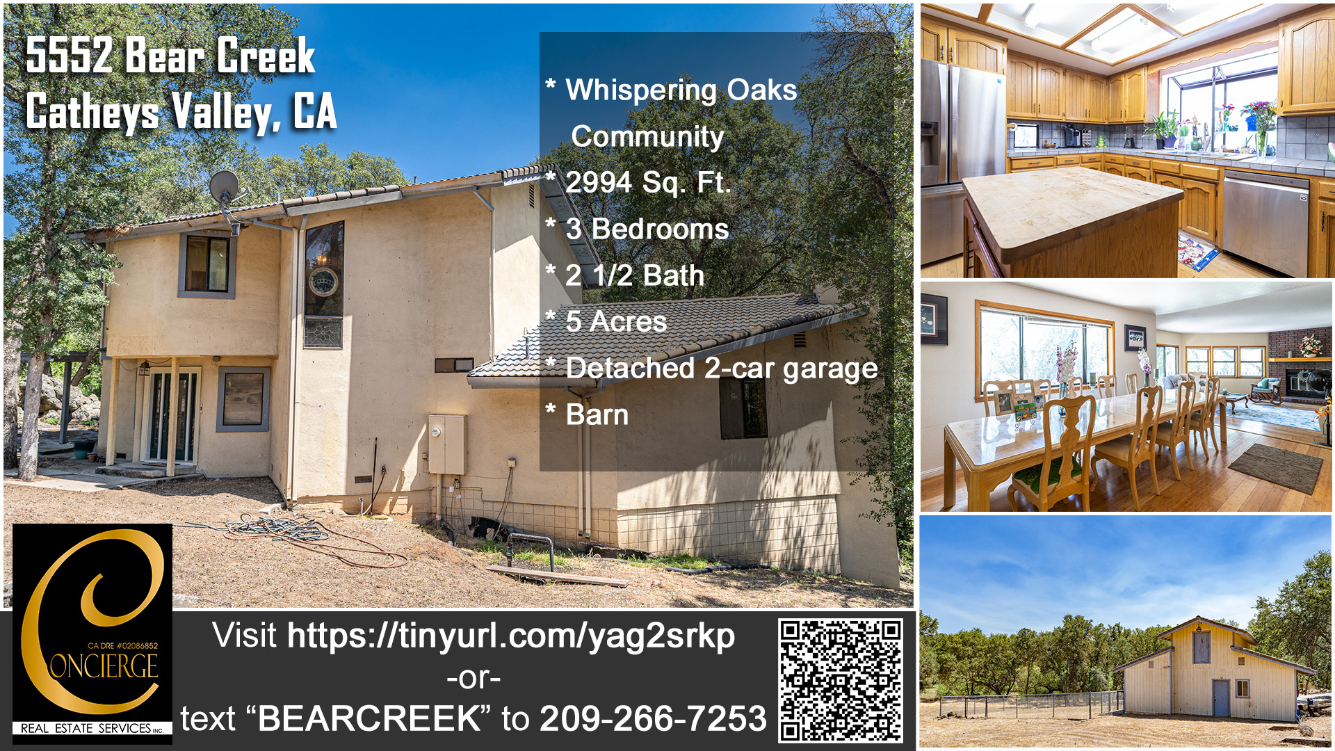 New listing in Whispering Oaks gated community in Mariposa