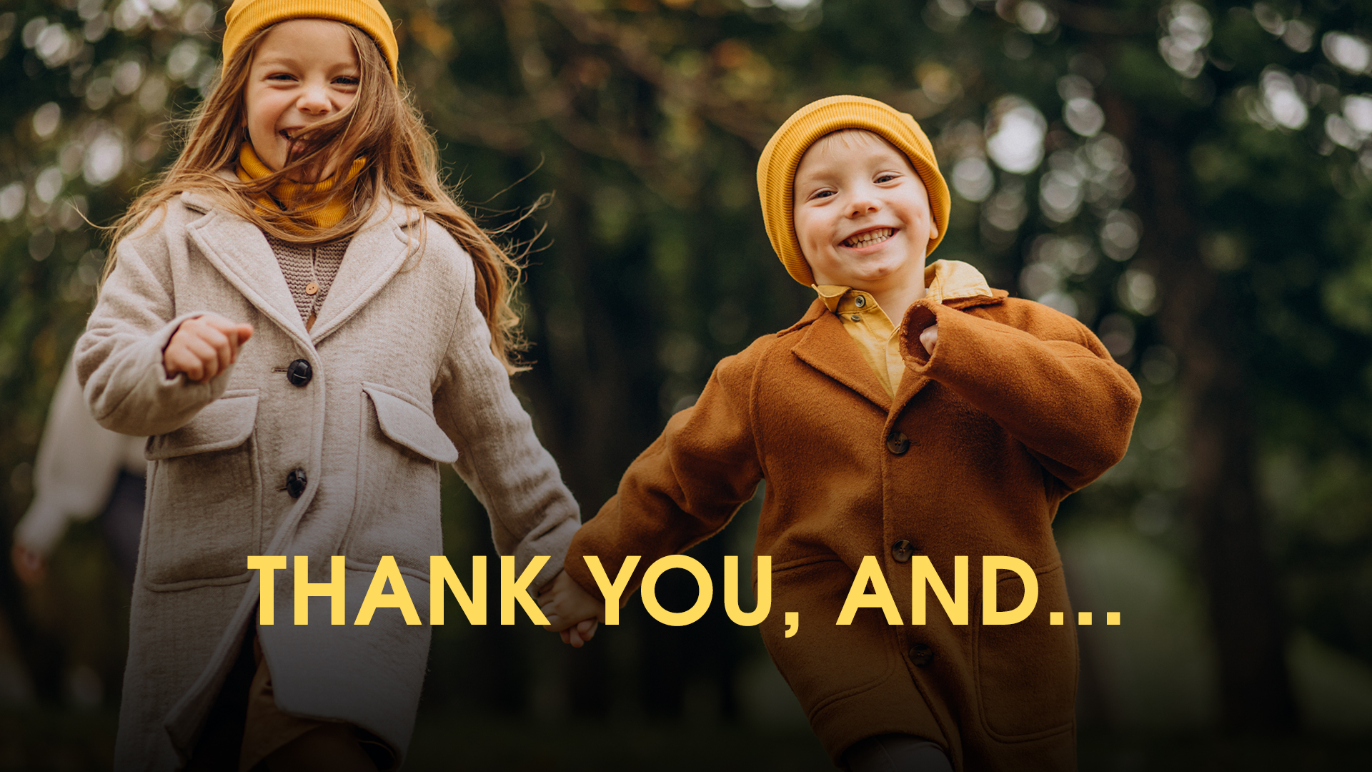 November 2020 Homewardbound Newsletter: Thank You, and...