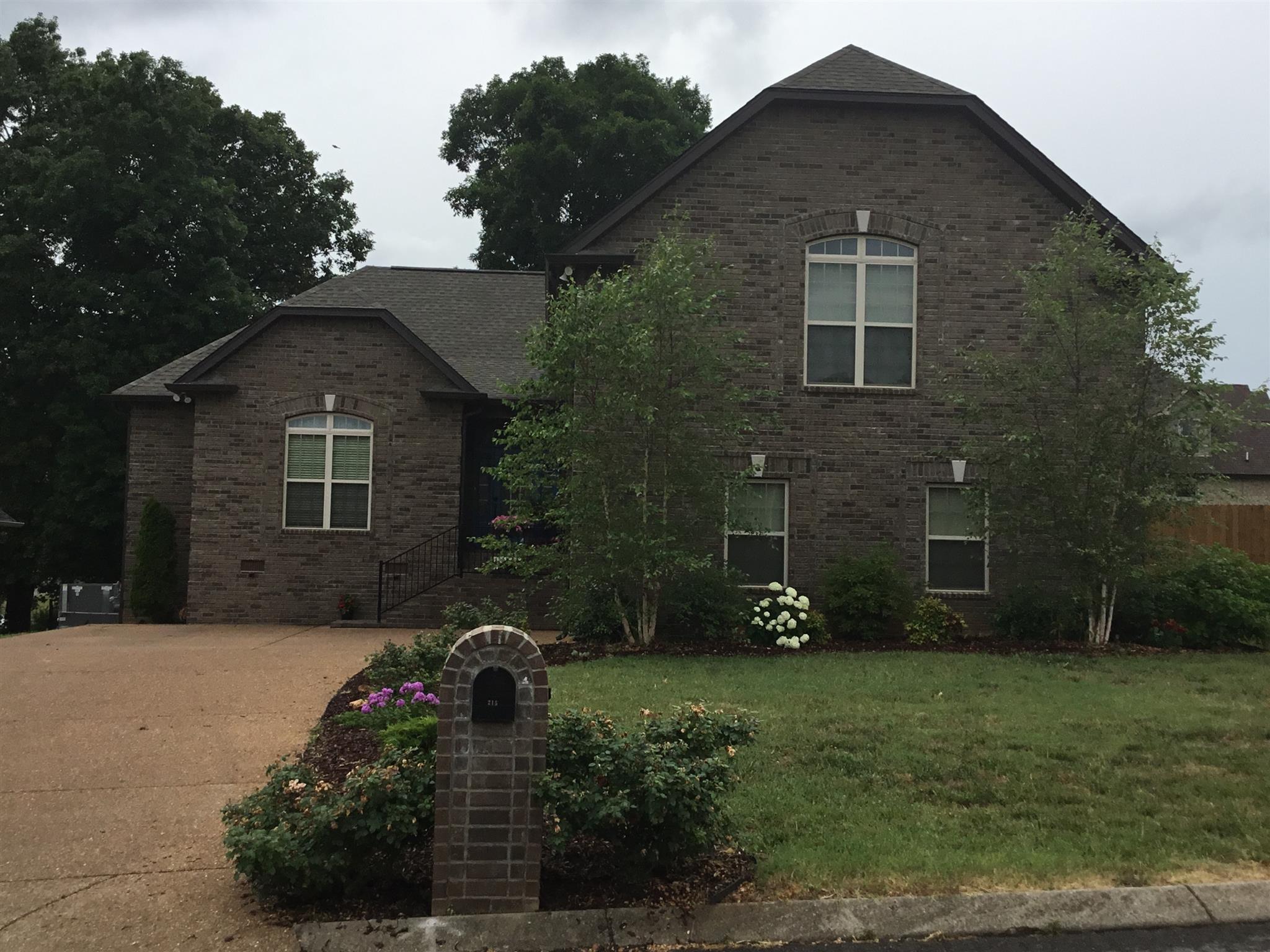 Stunning 4 BR/3BA With Bonus Room In Greystone Estates!  215 Bedrock Dr. Lot 46, White House, TN.  37188