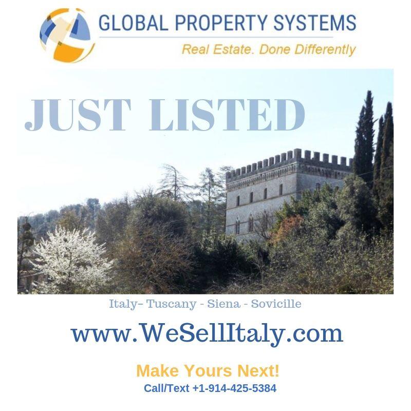 SPECTACULAR CASTLE NEAR SIENA | TUSCANY | ITALY