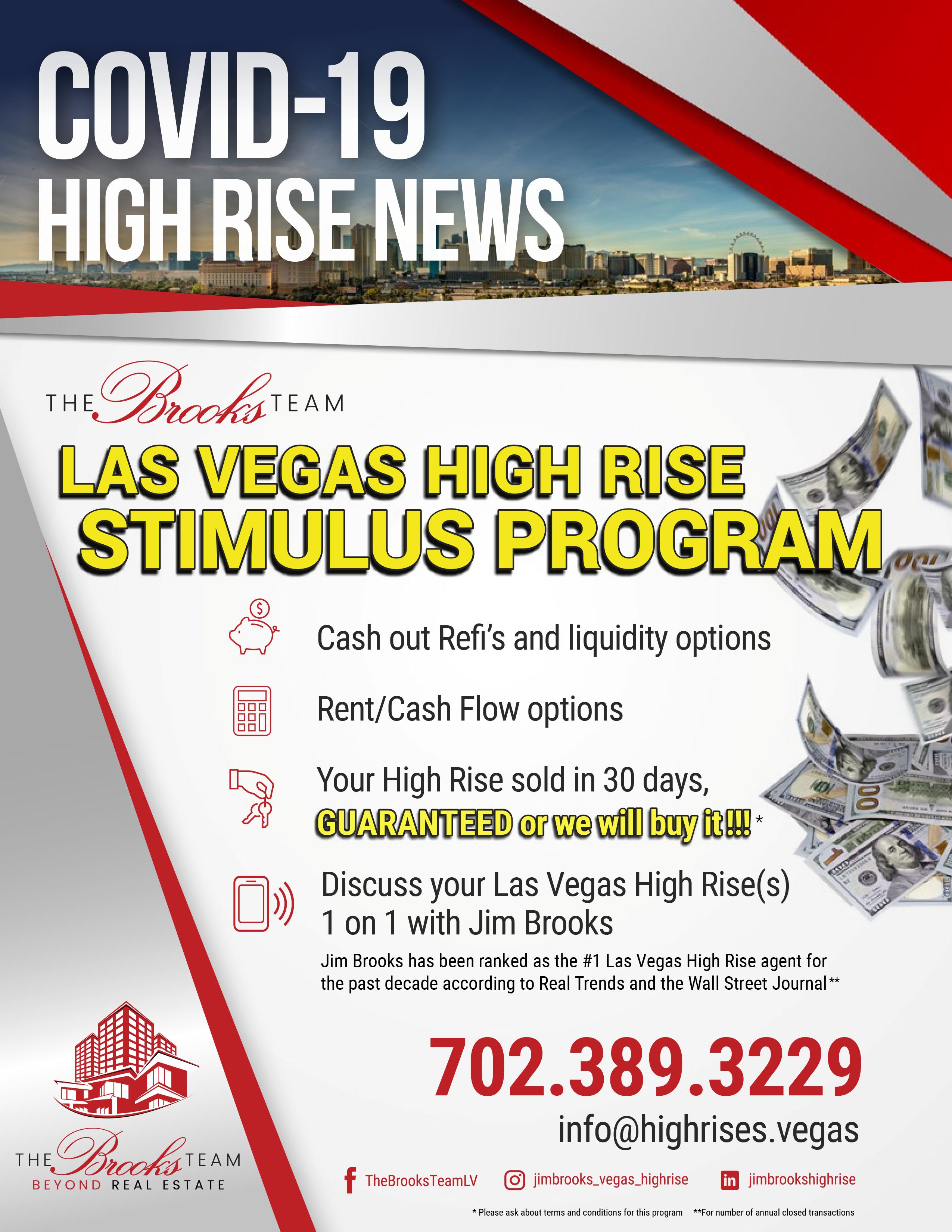 Palms Place Owners Stimulus Program