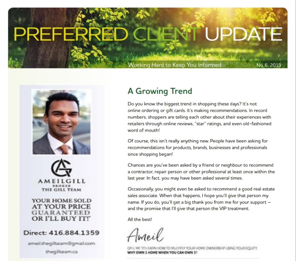 June - Preferred Client Update, Working Hard to Keep You Informed