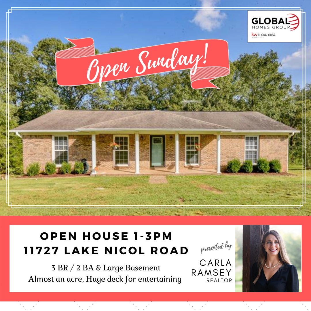 Open Houses - Sunday Sept 27 - 3 Homes for Sale
