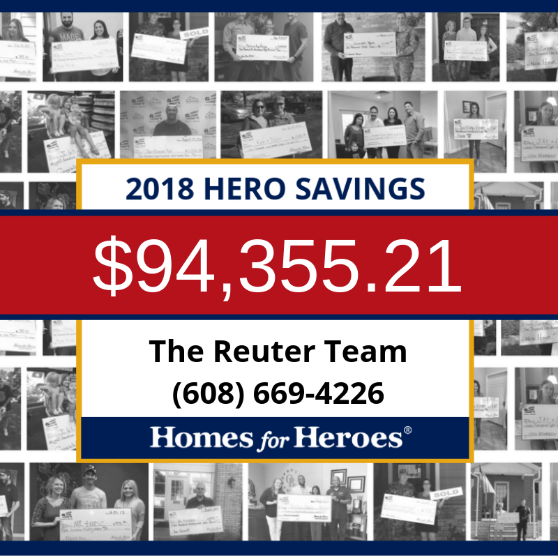 Reuter Team saves local Heroes over $94,000!