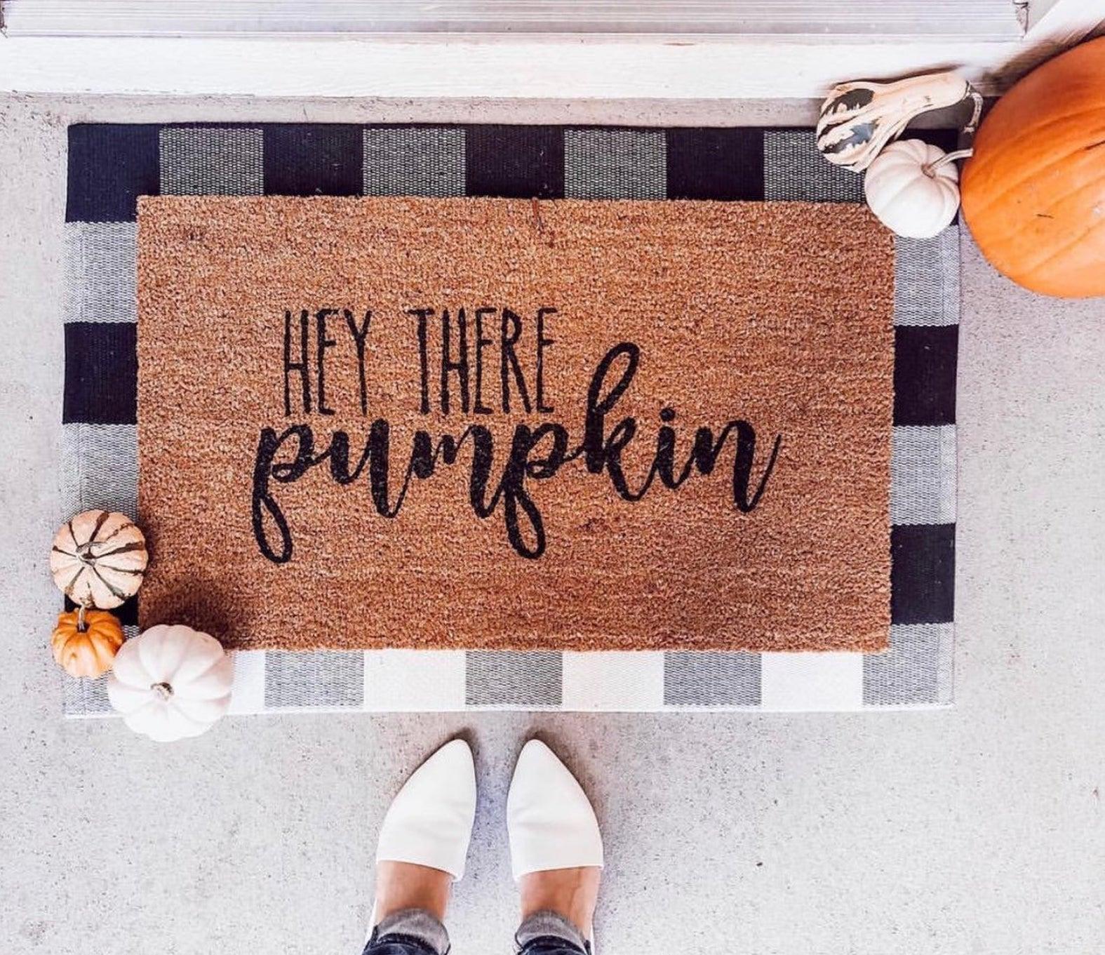 pumpkin mat 2