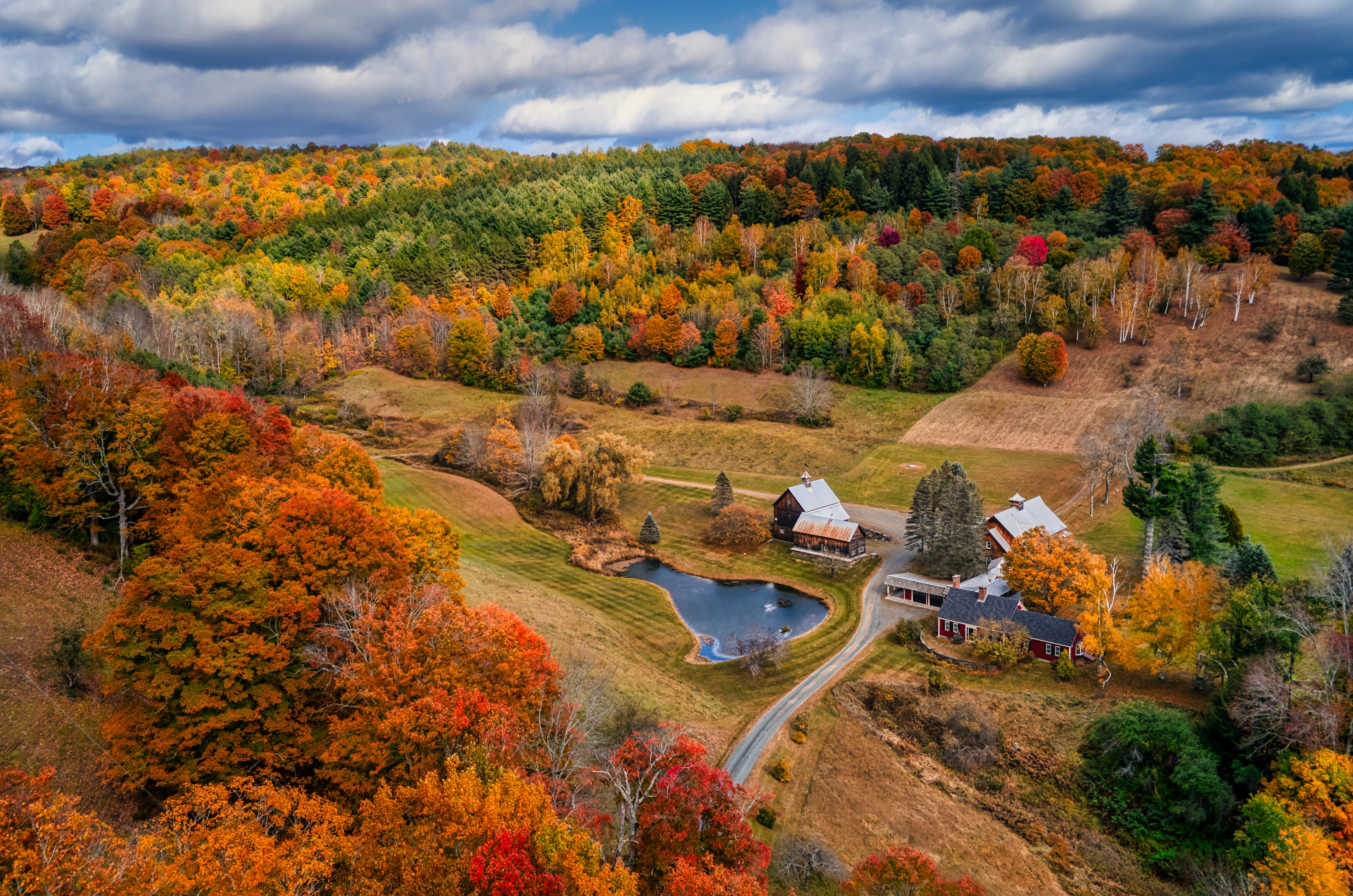 Best Fall Foliage Spots in Vermont