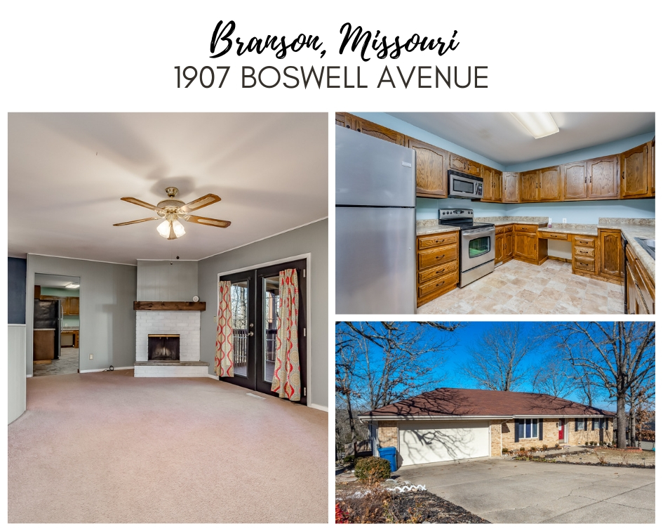 BRANSON MO REAL ESTATE | 1907 Boswell Avenue | MLS #60118337