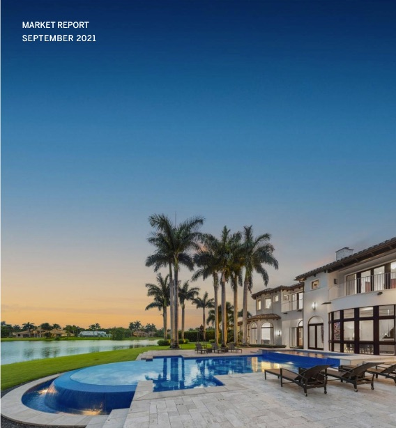 TRENDS September 2021 - Southeast Florida Real Estate Market Report including Miami Dade and Miami Beach