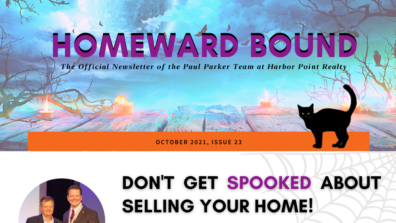 October Homeward Bound Newsletter